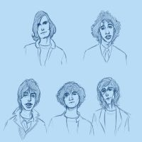 The Strokes - Sketch by verauko