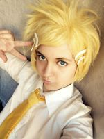 Kagamine Rinto-a by NamiWalker