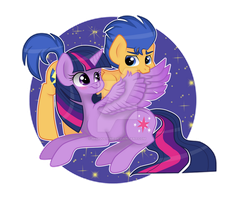 Twilight and Flash by mimijuliane