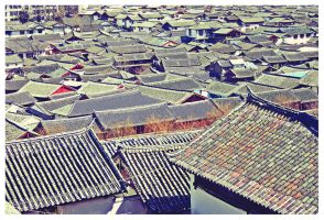 Roofs of china by hakkat