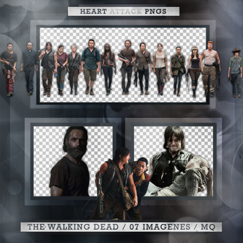 +The Walking Dead photopack png by ForeverTribute