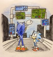 Speed Highway - ''Gotta go... where?'' by TheJege12