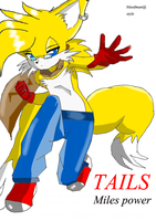 Tails Miles Prower Bleedman stlye by CompoundAngel