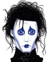 Edward Scissorhands by Psythiros