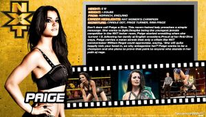 WWE Paige ID Wallpaper Widescreen by Timetravel6000v2
