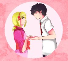 Shiemi, Dance with me by Meiying262