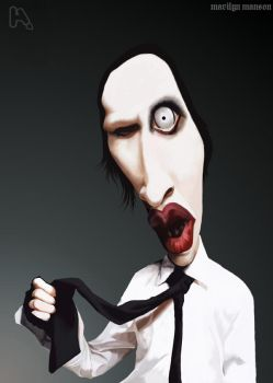 marilyn manson by manohead