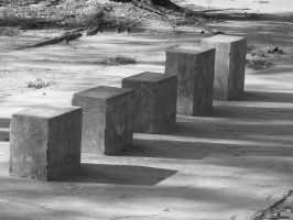 Blocks of silence by anuhesut