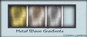 psp 9 Gradients metal by AzurylipfesStock