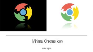 [icon] Minimal Chrome Icon by Primofenax