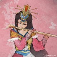 Peach Blossom Character by MiewGia