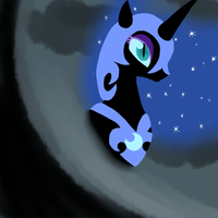 Nightmare Moon by Muketti