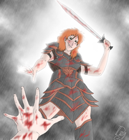 A bloody victory by Danny-Senpai