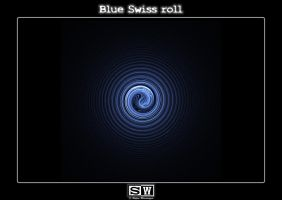 Blue Swiss roll by iFeelNoSorrow