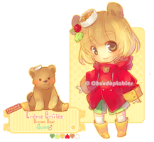 :NEMU: Creme Brulee Brown Bear [CLOSED] by Chuuchichu