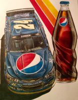 Jeff Gordon 2015 Pepsi Car (Michigan) by JonOwens