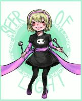 Rose Lalonde: SEER OF LIGHT (GIF) by Sket-Chee