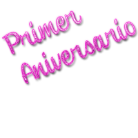 Text Primer Aniversario by SuperstarElevate