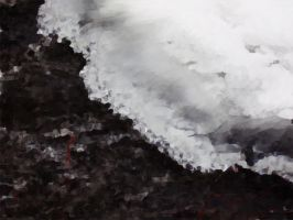 Ice-Coated Oil Paint by Rose--Wolf