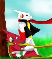 Ryumon and The King by TheZoe611
