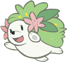 492. Shaymin by HappyCrumble