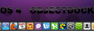 iOS 4 OBJECTDOCK by Lukeedee