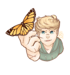 Butterfly Boy by Busring