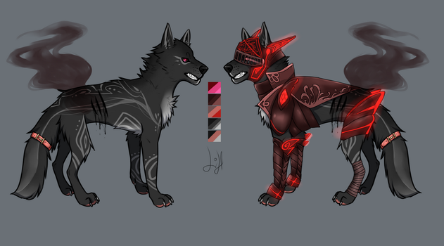 Canine adopt #7 SET PRICED[OPEN] by Lilithsleepsadopts