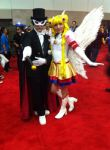 Sailor Moon and Tuxedo Mask by Qrow92