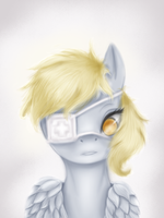 Derpy Hooves by AshesDarkPony