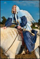WoW Priest on Horse by ChloeTheFox
