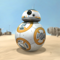 Star Wars - BB-8 by Woodvile
