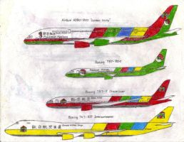 Eurasia Airlines Group Plane Livery 5 by MaxCheng95