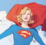 Little sketch - Supergirl by BilquisEvely