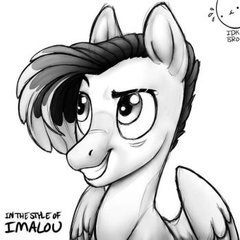 Style Challenge - Imalou (WIP) by XioBomb