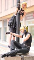 Rin and Len - Magnet by Suika-cosplay