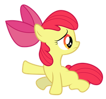 What is that thing? - Applebloom Vector by PaulySentry