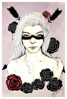Arrows and Roses by echoey