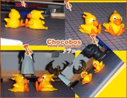 chocobo merchandise by spoon-kn