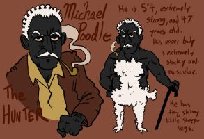 MICHAEL POODLE by MagnoliaPearl