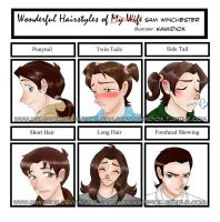 Hairstyle meme by KamiDiox