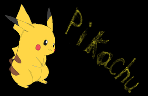 ms paint pikachu- by lossetta932