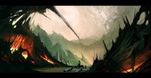 environment concept volcanic by Bawarner