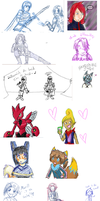 DOODLE DUMP OF INFINITE SIZE by Eisha-Suiiki