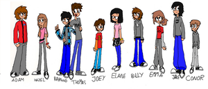 Unfinished team... by BillyBCreationz