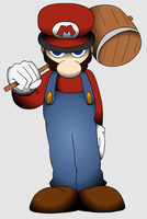 Gradient Mario by Kirbopher15