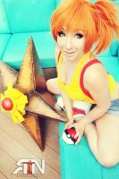 Misty and Staryu cosplay by Its-Raining-Neon