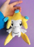 Jirachi Keychain Plushie by FollyLolly