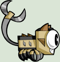Mixels - Scorpi side view vector by worldofcaitlyn