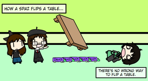 Spaz Table Flips Wil by Spaztique